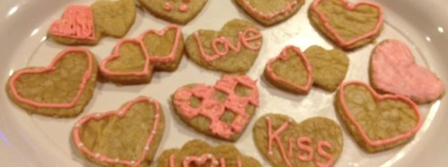 Be mine (Valentines Day sugar cookies)