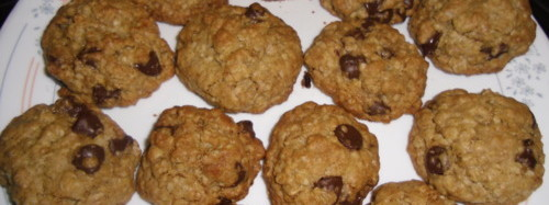 The perfect oatmeal chocolate chip cookie